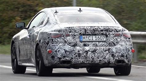 2021 BMW 4 Series Coupe Caught Testing With Full