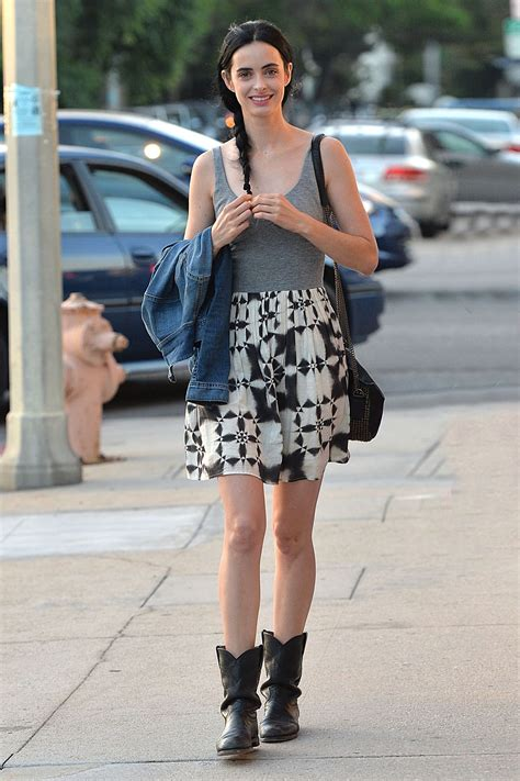 Krysten Ritter Street Style - Out and About in Los Angeles