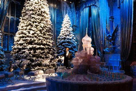 Hogwarts in the Snow & Dinner in the Great Hall Return to