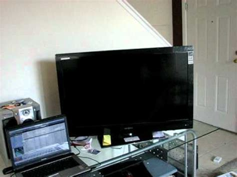 Insignia 37 inch TV fails after 6 days - YouTube