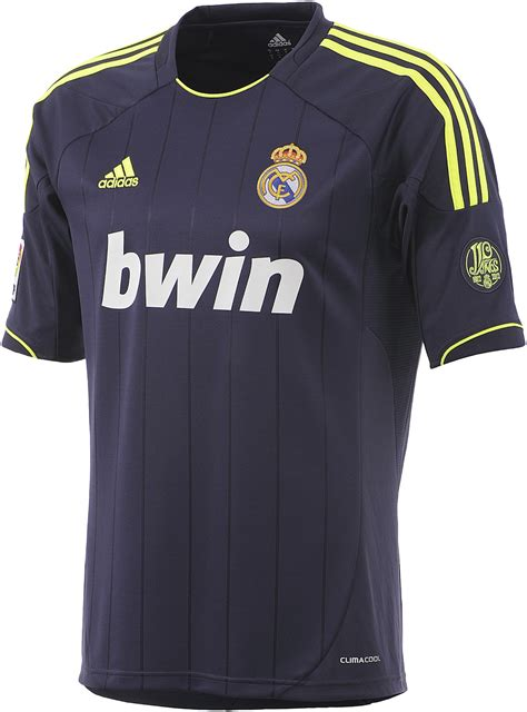 Real Madrid 12/13 Kits Officially Unveiled - Footy Headlines