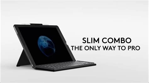 Logitech Launches The Slim Combo Keyboard Case for 10