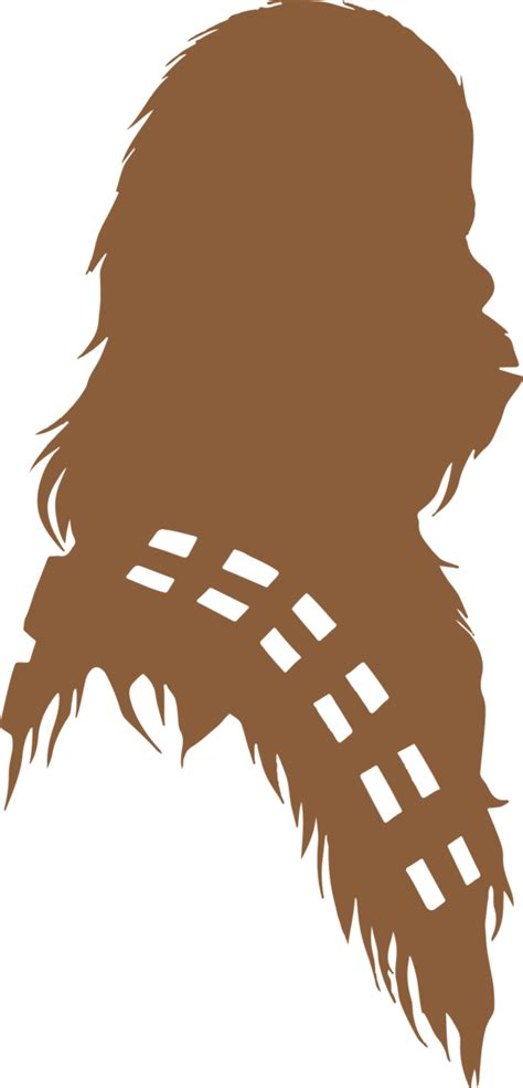 Chewbacca Silhouette | Star Wars SVG DXF EPS PNG Cut File