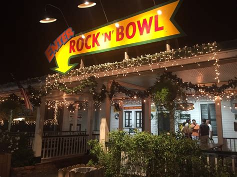 Rock 'N' Bowl, New Orleans, Louisiana - Jazz music and