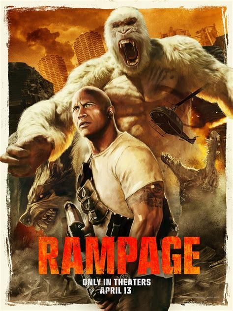 Movie Review - Rampage (2018)