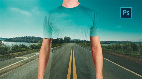 Create a transparent clothes effect in Photoshop
