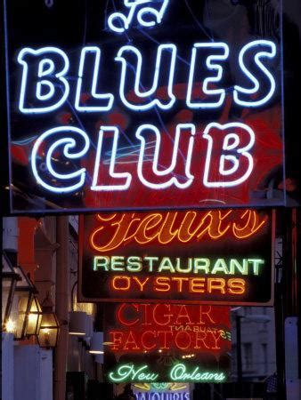 Neon Signs on Bourbon Street, French Quarter, New Orleans