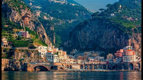 Most Beautiful Amalfi Coast Towns - YouTube
