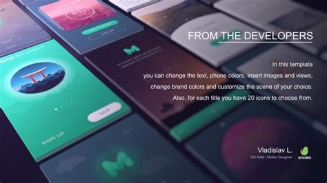 Videohive App Presentation » free after effects templates