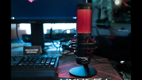 CES 2019: HyperX's new Quadcast Gaming Microphone - YouTube