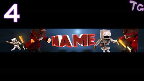 (Best) Top 10 Minecraft YouTube Banner Templates #5 - YouTube