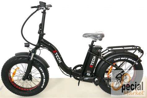 Ztech ZT-89 B Folding Electric Bicycle - eBikeSpecial