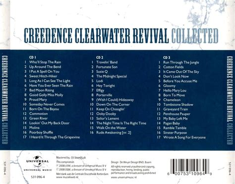 Creedence Clearwater Revival - Collected (3 CD, 2008
