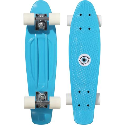 Junior Plastic Skateboard - Blue | oxelo