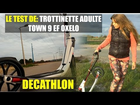 Patinete Town 3 - Inovação Exclusiva Decathlon - YouTube