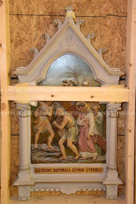 Antique-Stations-of-the-Cross - Vintage Gothic Daprato