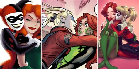 20 Crazy Details About Harley Quinn And Poison Ivy's