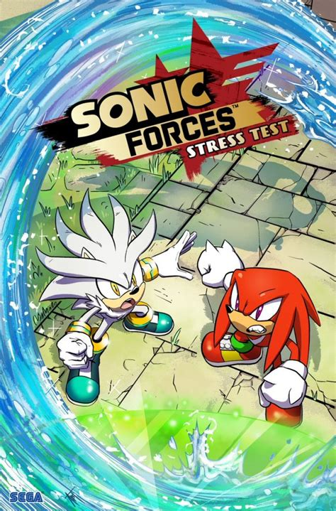 Sonic Forces comic 2 cover – The Sonic Stadium