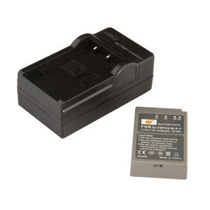 BLS-50 battery & charger for Olympus, Pen , Stylus