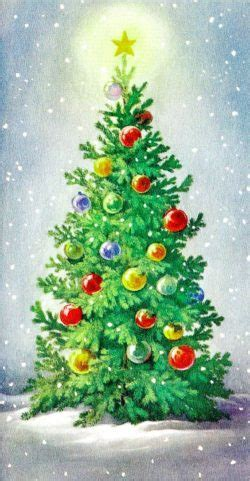 christmas trees oil painting   http://lomets