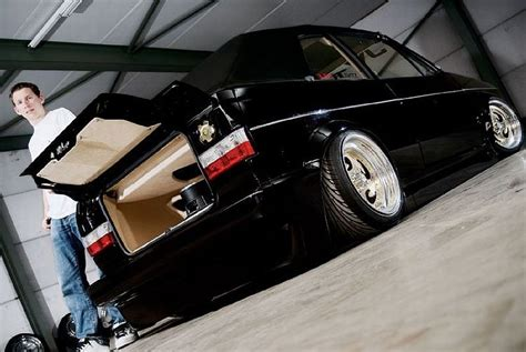 1980 VW Golf Cabriolet Gets Ultimately Tuned - autoevolution
