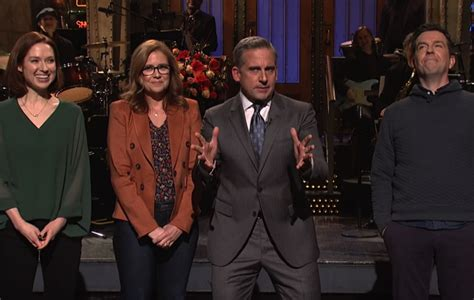 Watch the cast of 'The Office' beg Steve Carell to take
