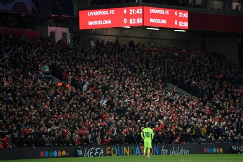 Liverpool 4-0 Barcelona - The most incredible night at