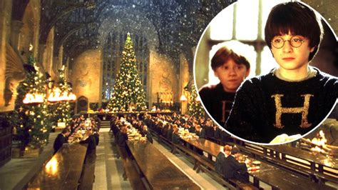 People Will Be Able to Have Christmas Dinner at Hogwarts