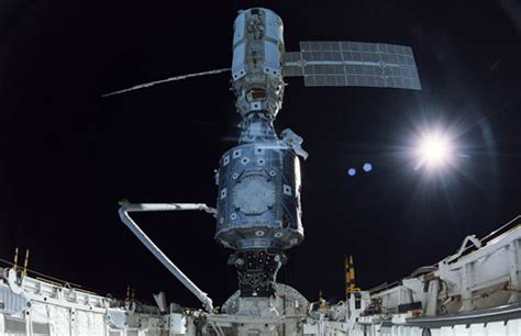 Zarya, 1st launched module of International Space Station
