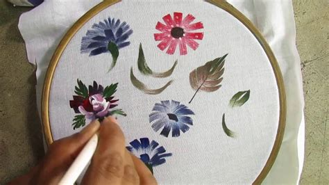 Fabric Painting Floral Technique /Fabric Painting Course