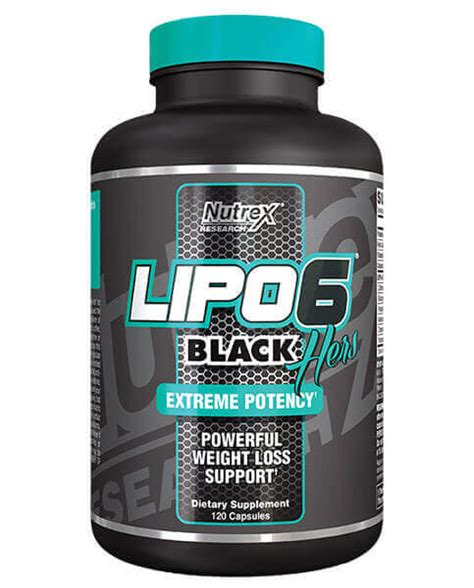 Nutrex Research | LIPO-6 Black Hers