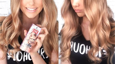 DYING MY HAIR ROSE GOLD // Schwarzkopf LIVE Colour