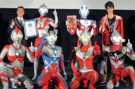 Ultraman wins Guinness World Record for 'TV series with