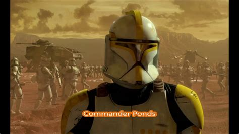 All Clone Commanders and Captains - YouTube