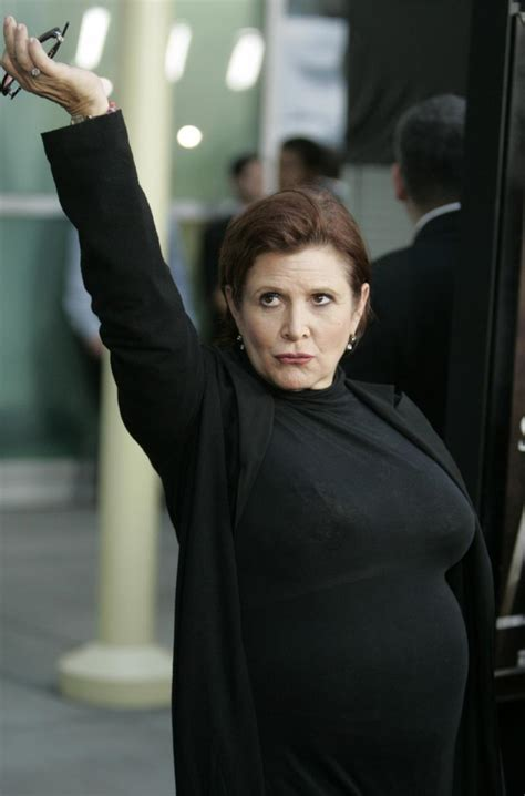 Carrie Fisher Drunk? Video Of Her 'Trashed And Incoherent