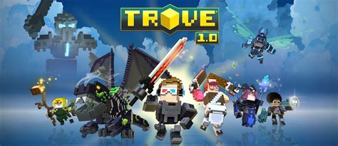 Trion World's Trove is like a Minecraft MMO building game