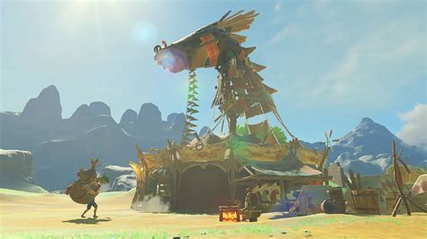Newest Zelda: Breath of the Wild screenshot may hint at a