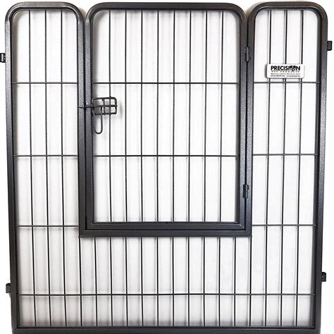 PRECISION PET COURTYARD KENNEL EXERCISE PEN WITH DOOR